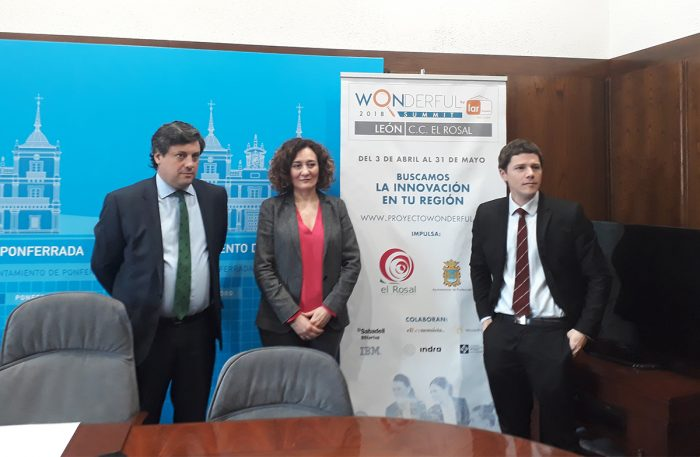 """El Centro Comercial El Rosal y el Ayuntamiento de Ponferrada presentan la segunda edición del Concurso de Innovación """"Wonderful"""" 1"""