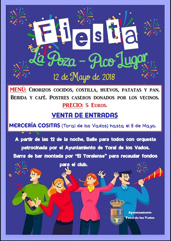 Fiesta en los barrios de La Poza y El Pico Lugar de Toral de los Vados 1