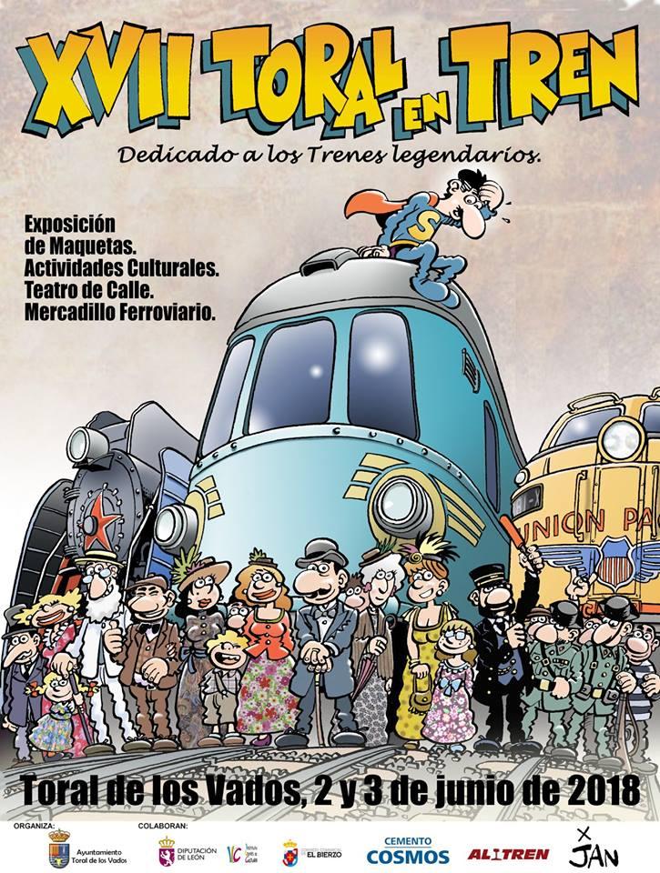 Ya a la venta las entradas para participar en la XVII edición de Toral en Tren 1