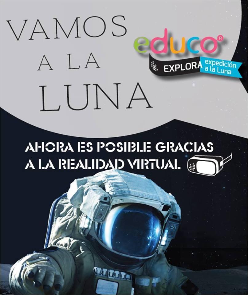 """""""Vamos a la Luna"""" una experiencia de Realidad Aumentada que te permitirá viajar a la Luna a bordo del Apolo XI desde el Museo de la Energía 1"""