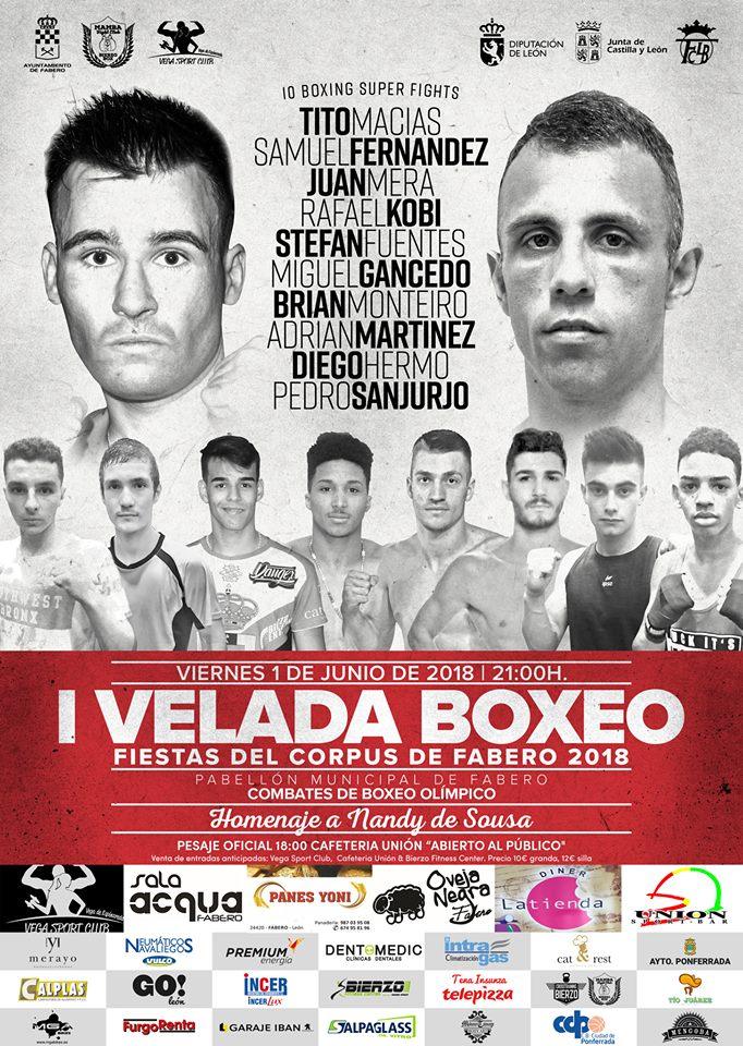 Fabero organiza una velada de Boxeo en el Corpus 2018 1