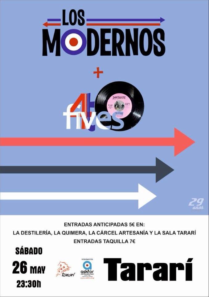 Los Modernos y 4tFives este sábado en Ponferrada 1