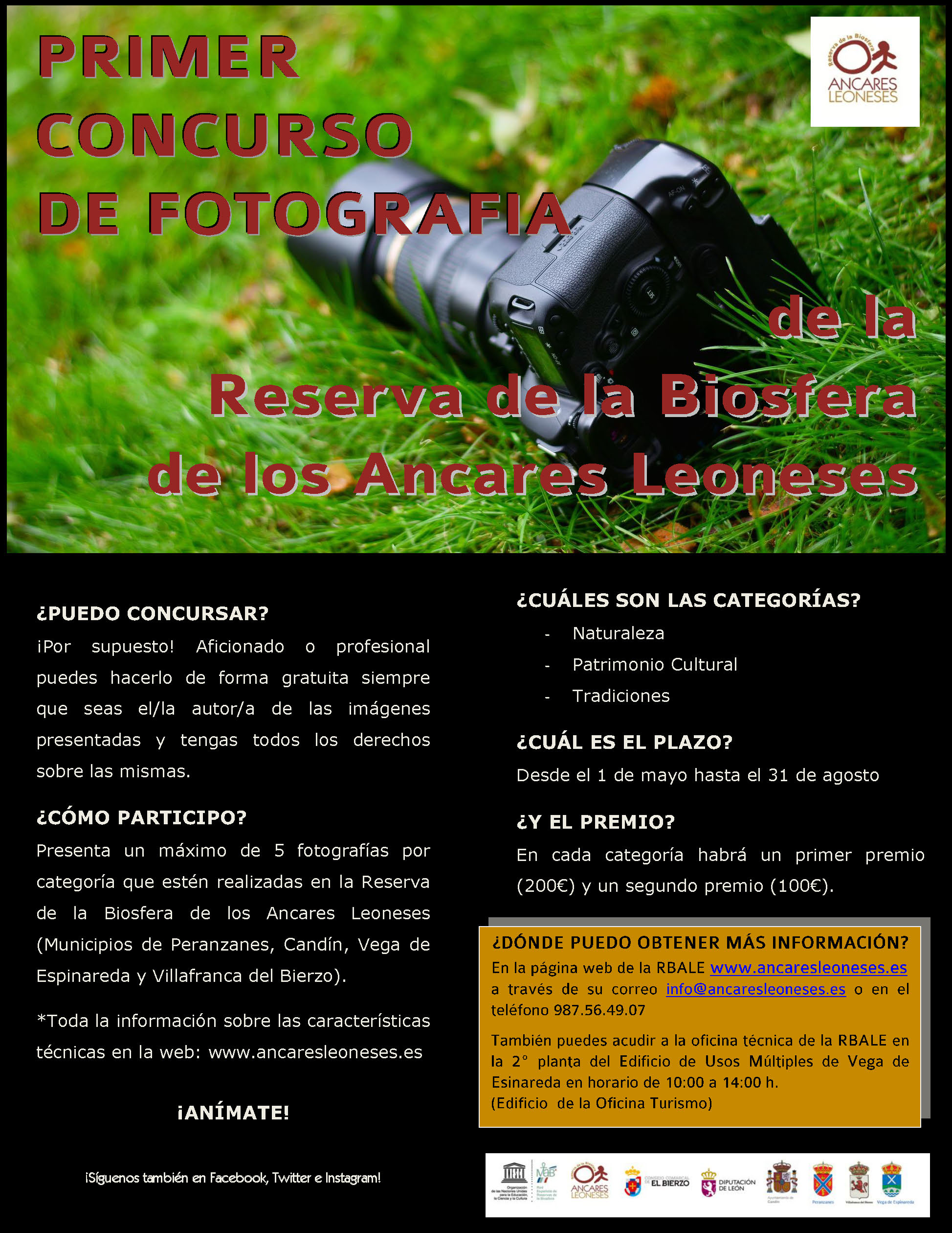 Primer concurso de fotografía de la Reserva de la Biosfera de los Ancares Leoneses 1