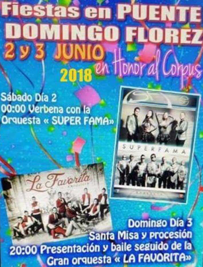 Fiestas en honor al Corpus en Puente de Domingo Flórez 1