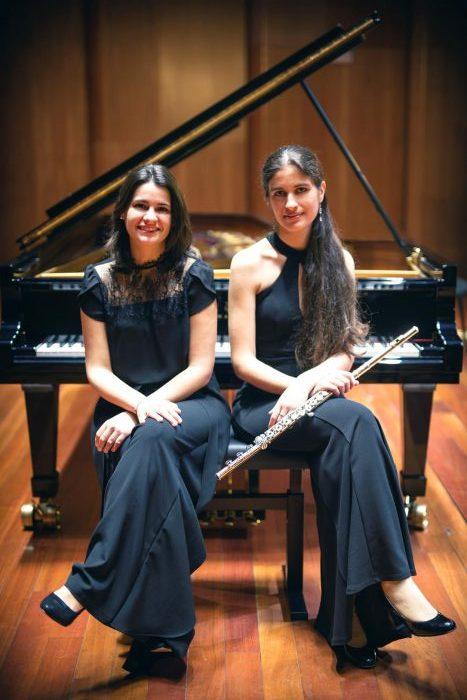 Concierto de flauta y piano en la temporada de Juventudes Musicales 1