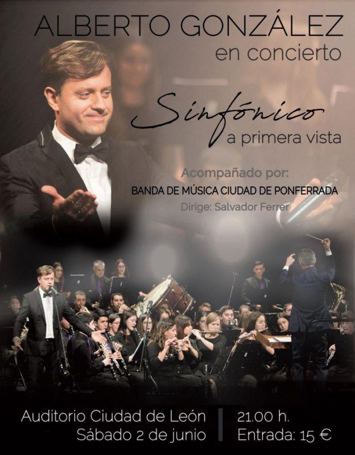 Alberto González presenta 'A primera vista sinfónico' en el auditorio de León 1