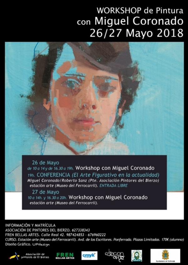Workshop de Pintura con Miguel Coronado 26/27 Mayo 2018 1