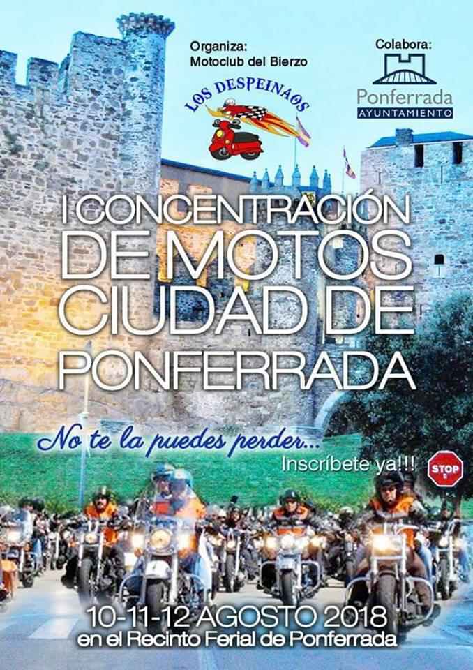 1ª Concentración de motos Ciudad de Ponferrada 1