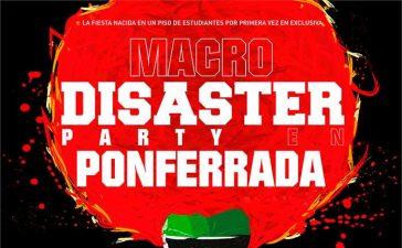 Se presenta 'Disaster Party', una fiesta estudiantil en Ponferrada para celebrar el final de curso 6