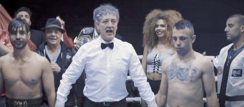 Tito Macías se sube de nuevo al ring para coprotagonizar el último vídeo del artista leonés Polo Nández 1
