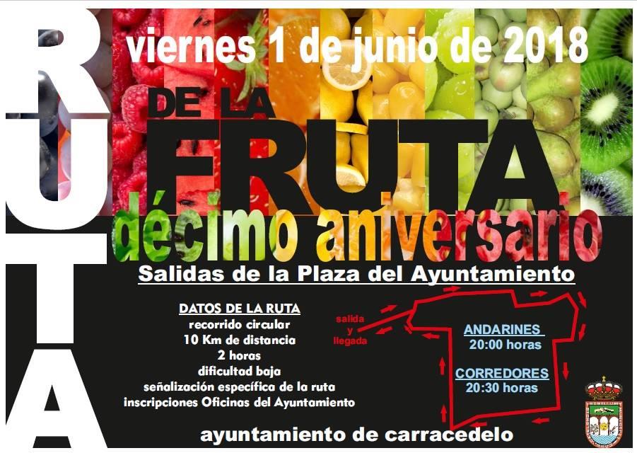 Ruta de la fruta (Décimo aniversario) 1