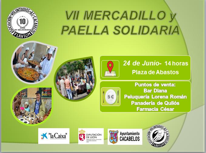 YII Mercadillo y paella solidaria 1