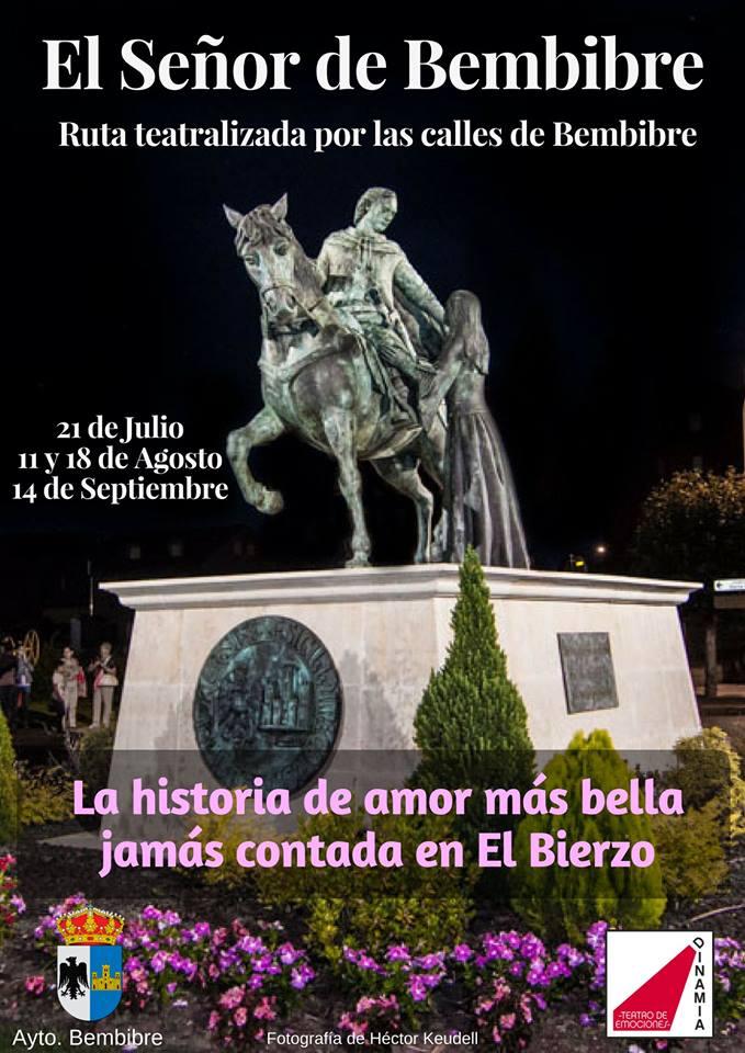 Dinamia teatro realizará este verano por las calles de Bembibre rutas teatralizadas dedicadas a la obra de Gil y Carrasco 1