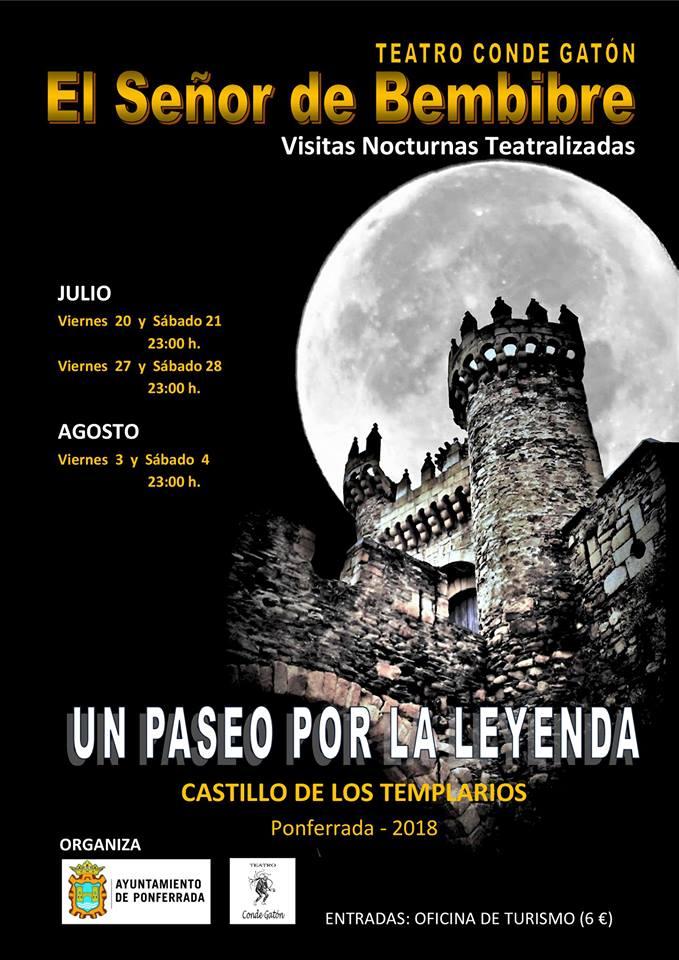 Vuelven las visitas nocturnas teatralizadas al Castillo de los Templarios 1