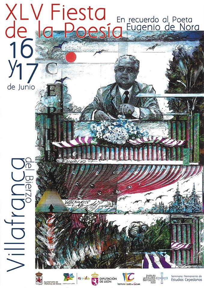 La fiesta de la poesía de Villafranca del Bierzo estará dedicada al recuerdo de Eugenio de la Nora 1
