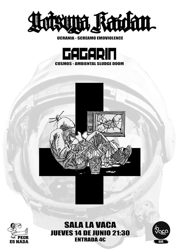 Yotsuya Kaidan + Gagarin el jueves en la Sala La Vaca 1
