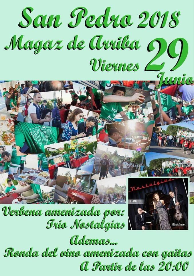 Fiestas de San Pedro 2018 en Magaz de Arriba 1