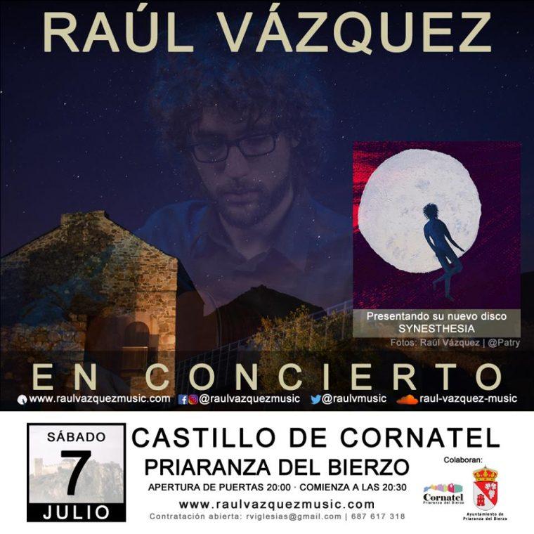 Concierto de Raúl Vázquez en el Castillo de Cornatel 1