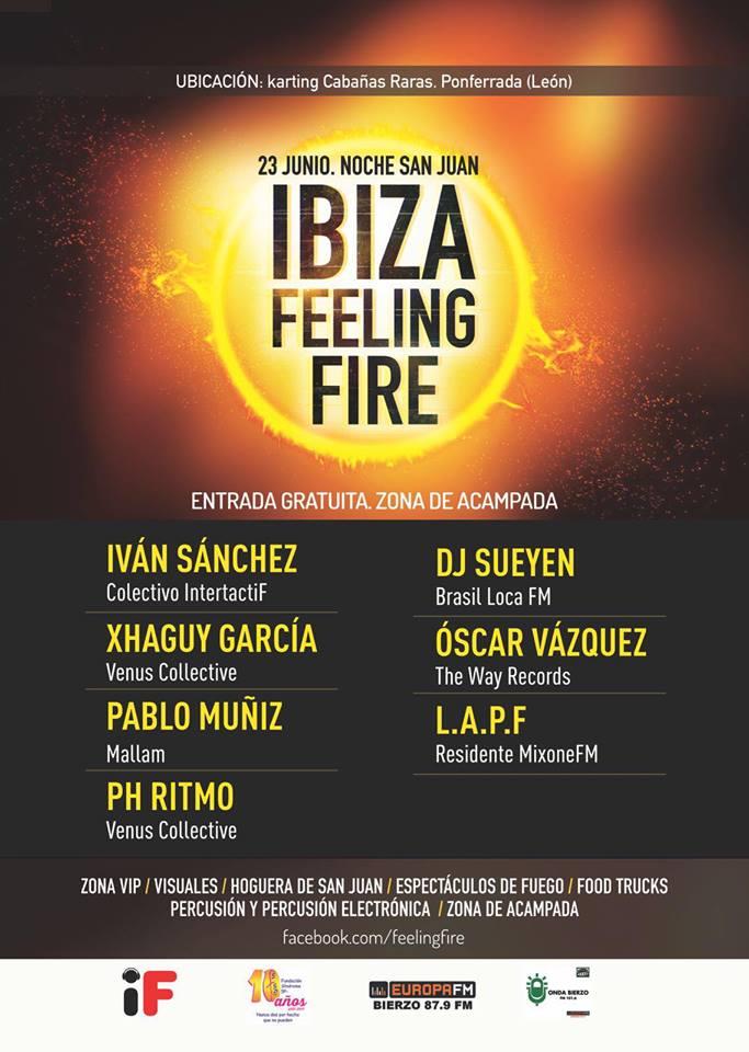 El Karting de Cabañas celebra la noche de San Juan con la II Edición del Ibiza Feeling Fire 1