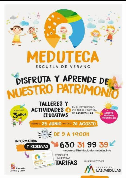 La escuela de verano 'Meduteca' plantea aprender y disfrutar en el entorno de Las Médulas 1