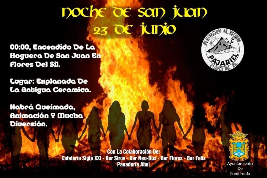 Noche de San Juan 2018 en el barrio de Flores del Sil 1