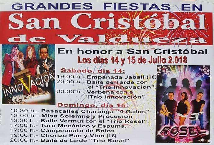 Fiestas patronales de San Cristobal de Valdueza 1