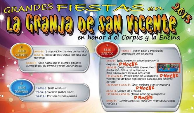 Grandes Fiestas en la Granja de San Vicente en honor al Corpus y La Encina 1