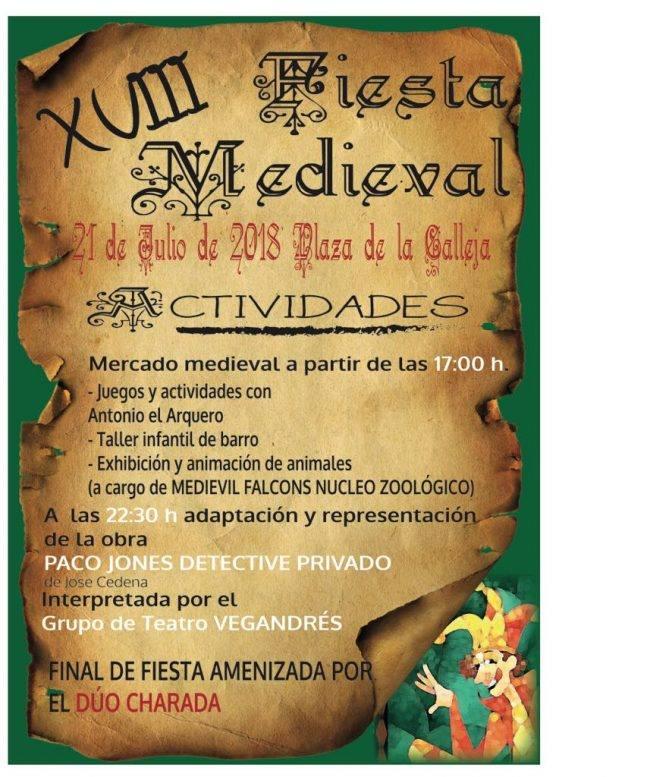 XVIII Fiesta medieval en Vega de Espinareda 1