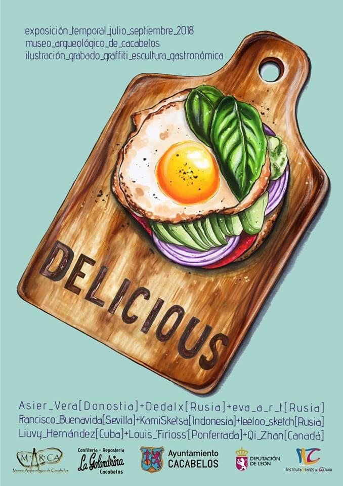 El Museo Arqueológico de Cacabelos presenta DELICIOUS, una exposición temporal dedicada a saborear la gastronomía a través de la ilustración 1