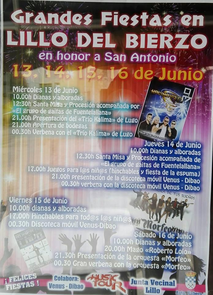Fiestas patronales en Lillo del Bierzo 2018 1
