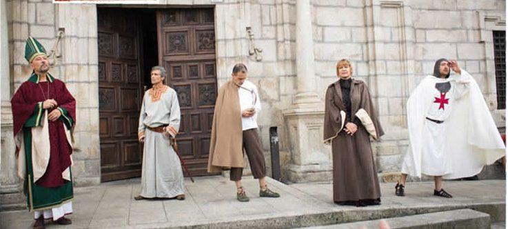 Regresan las visitas teatralizadas al casco antiguo de Ponferrada 1