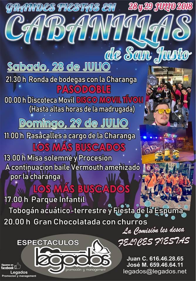 Fiestas de San Justo 2018 1