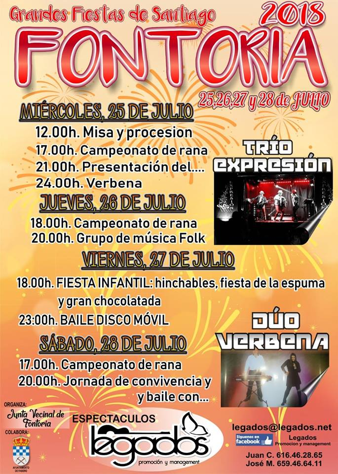 Fiestas de Santiago en Fontoria 1