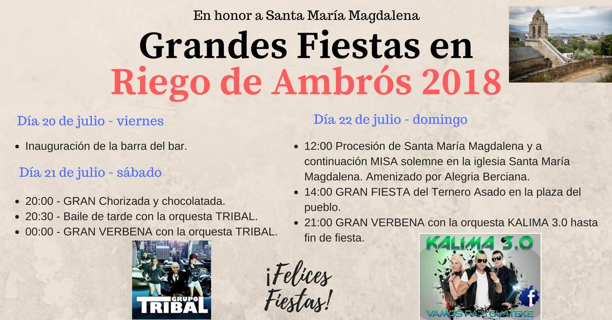 Fiestas de la Magdalena 2018 1