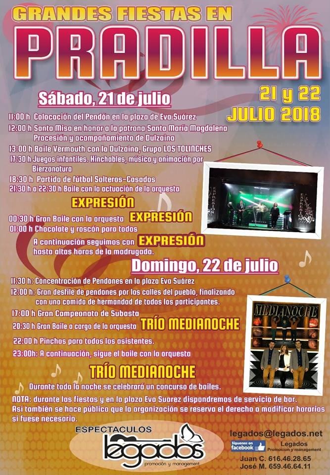 Fiestas en Pradilla 2018 1