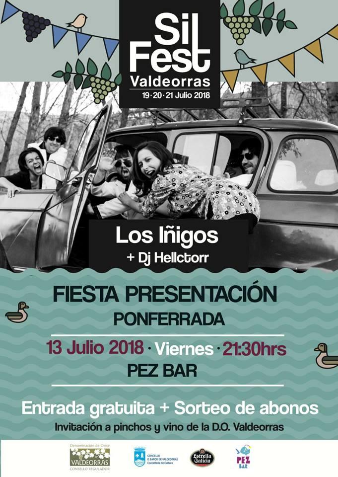 Presentación del SilFest con directo de 'Los Íñigos' 1