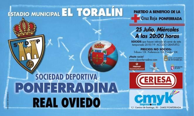 Fútbol: Ponferradina - Real oviedo 1