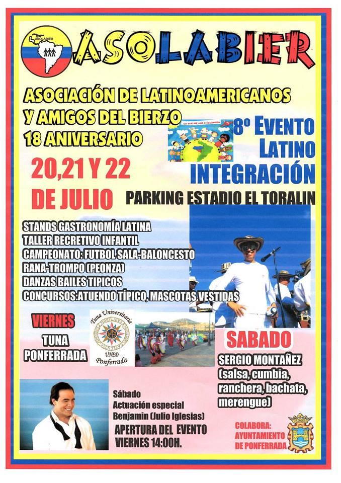 8º Evento latino integración 1
