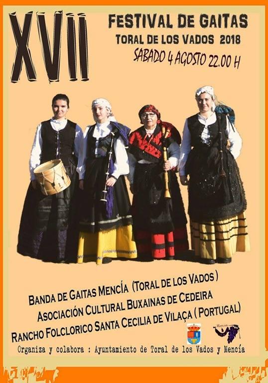 XVII Festival de gaitas de Toral de los Vados 1
