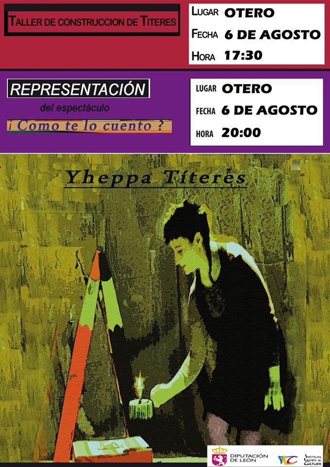 Función de Títeres y taller en Otero de Villadecanes 1