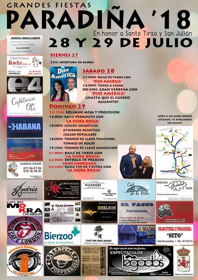 Santo Tirso y San Julián 2018 en Paradiña 1