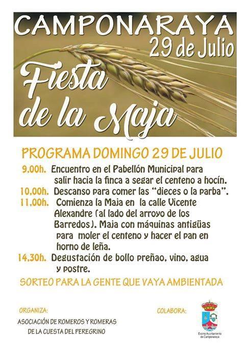 II Fiesta de la Maja en Camponaraya 1