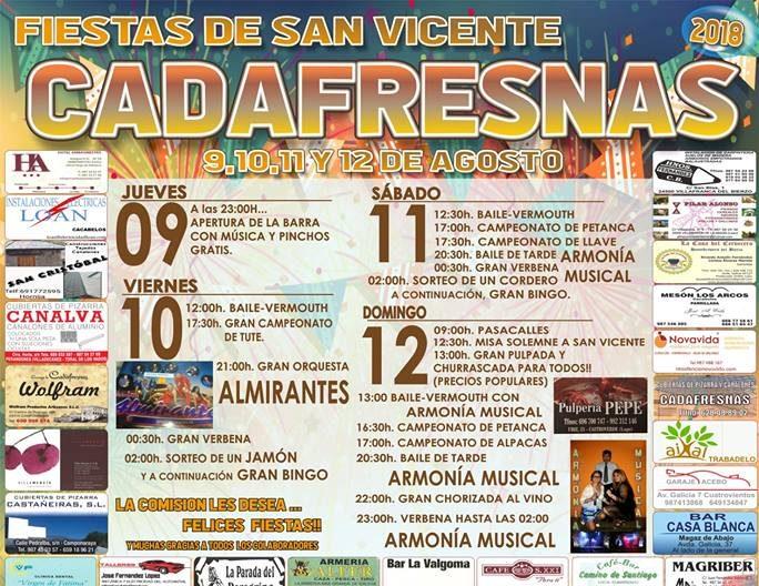 Fiestas Cadafresnas 2018 1