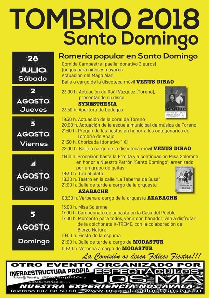 Fiestas de Santo Domingo 2018 1