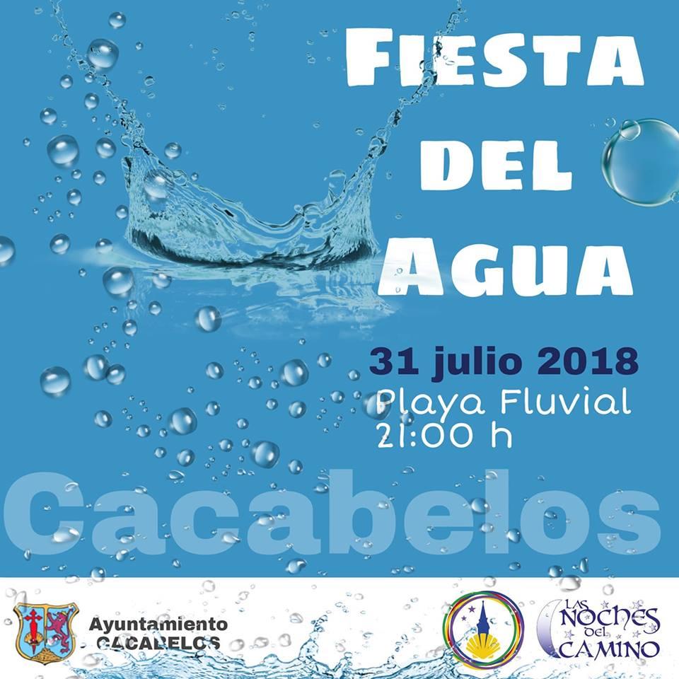 Cacabelos organiza una fiesta del agua en la Playa fluvial 1