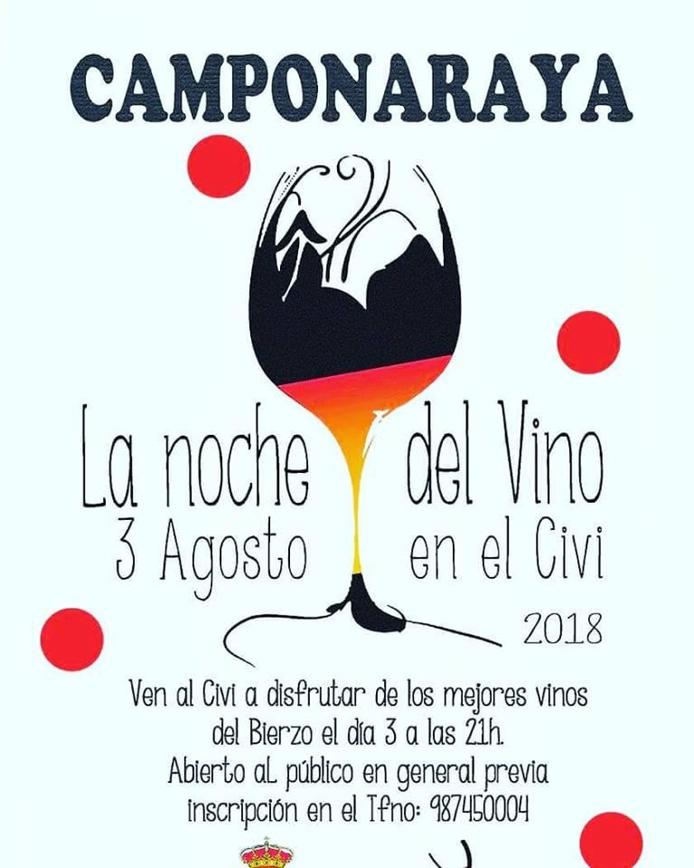 El viernes 'La noche del vino' en el Civi de Camponaraya 1