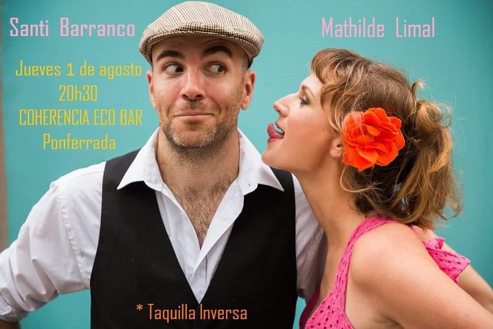 Santi Barranco y Mathilde Limal Presentan 'Béchamél mucho, canciones a la creme