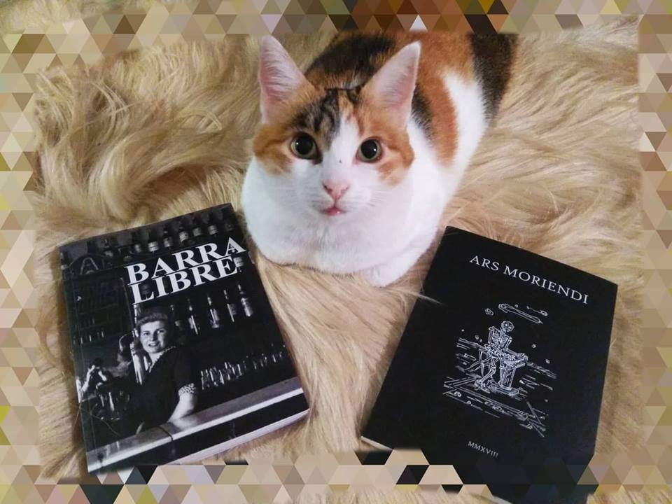 Presentación doble de libros en el Marca de Cacabelos: Barra Libre y Ars Moriendi 1