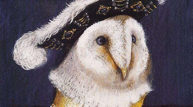"""""""LA OVEJA DE LA PERLA"""" y otros cuadros famosos del Gran Libro de los retratos de animales, por Svjetlan Junakovic 1"""