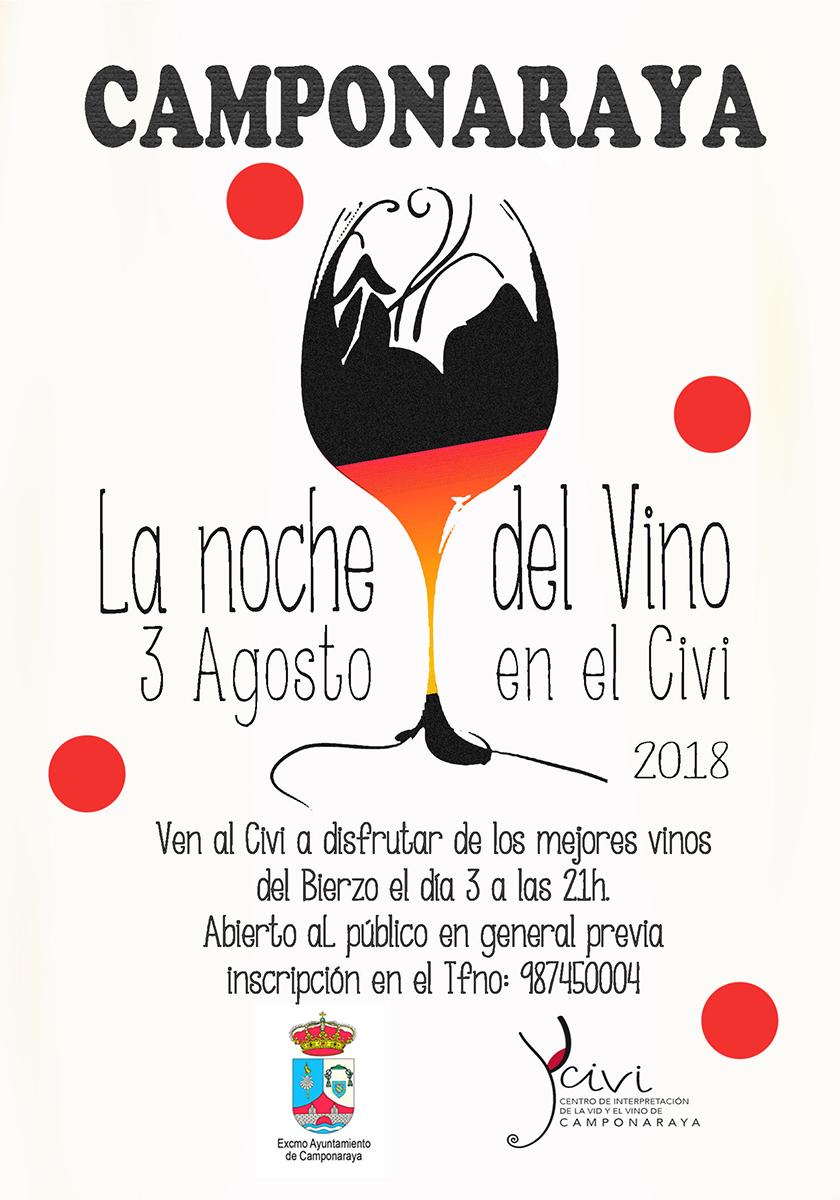 El Viernes 3 de Agosto en el CIVI la Noche de los Vinos! 1